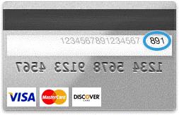 Card Security Code Cvv2 Or Cvc